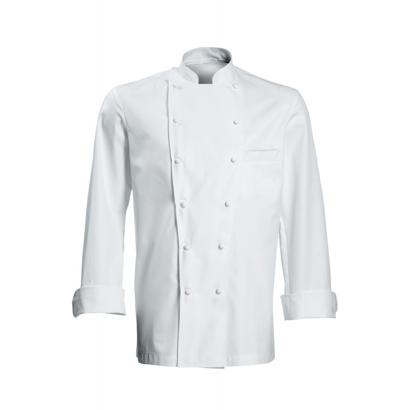 Chaquetillas de cocina grand chef blanco for Cocina grand chef imaginarium