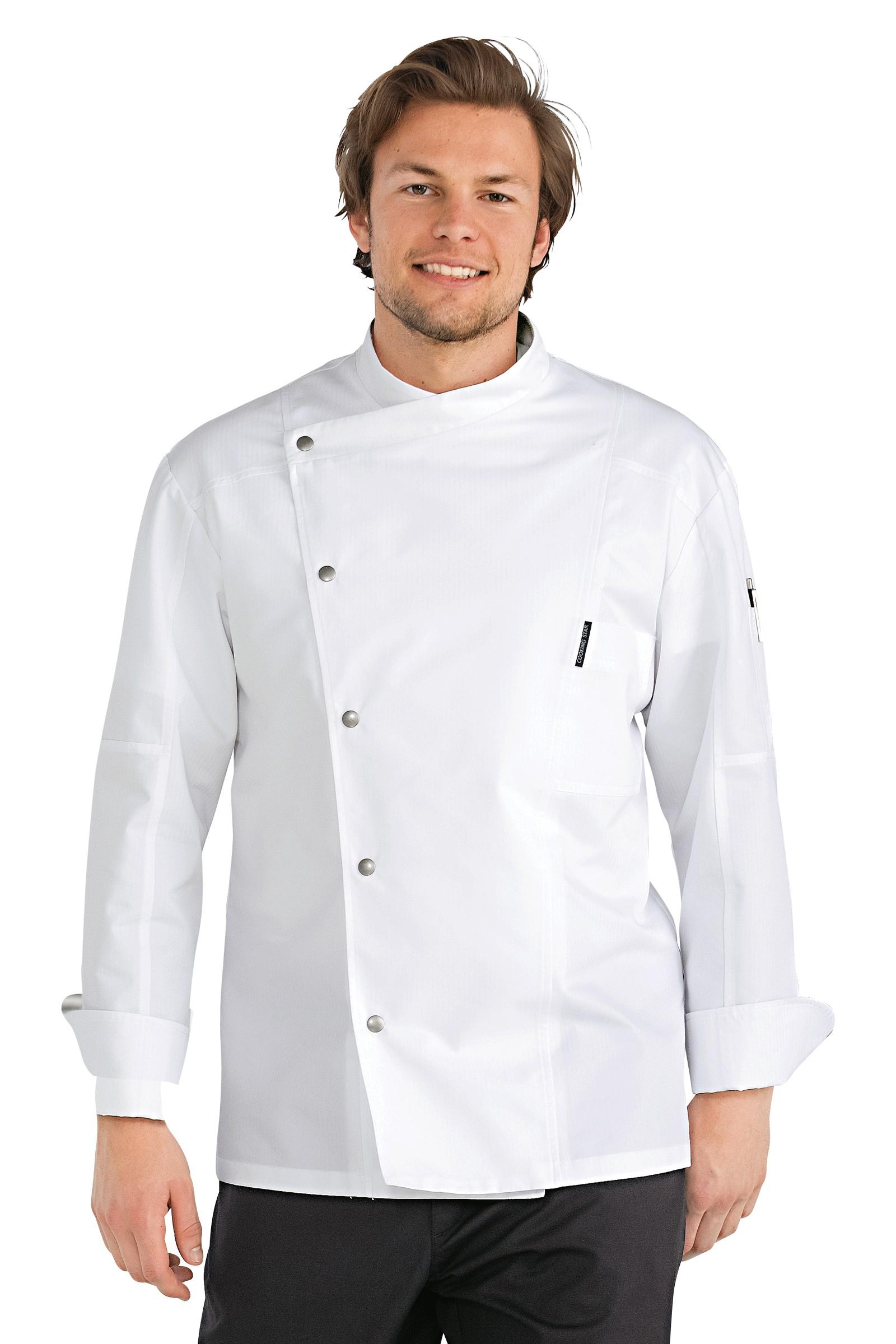 Chaquetillas de cocina hugo blanco - Chaquetillas de cocina ...