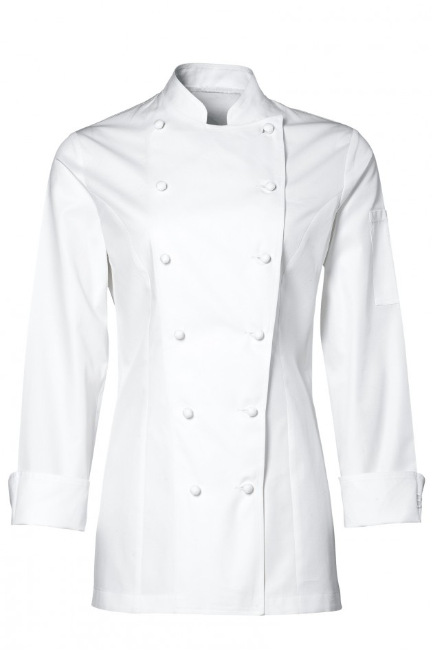 Veste de cuisine grand chef lady blanche for Veste de cuisine bragard
