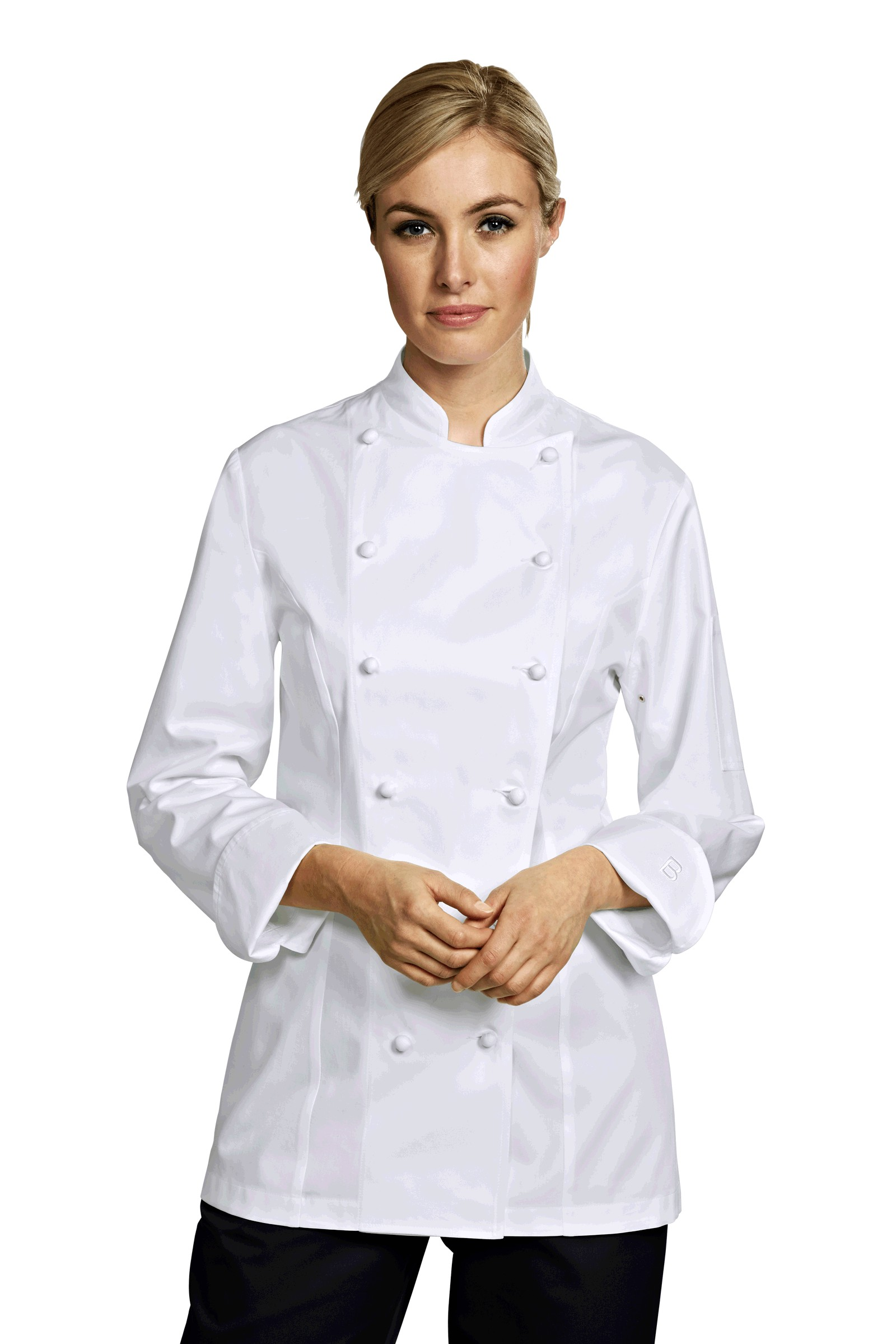 Chaquetillas de cocina grand chef lady blanco for Cocina grand chef imaginarium