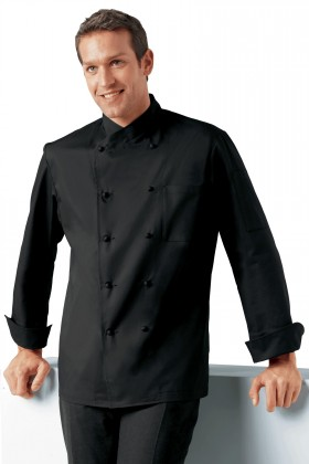 Veste de cuisine noire bragard