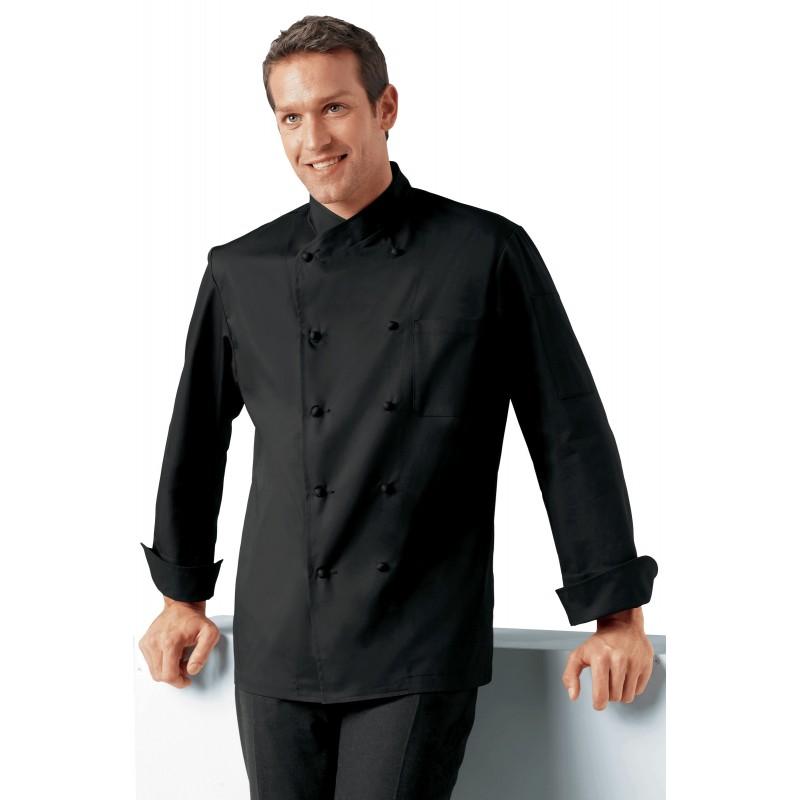 veste de cuisine jolio blanche sans poche. Black Bedroom Furniture Sets. Home Design Ideas
