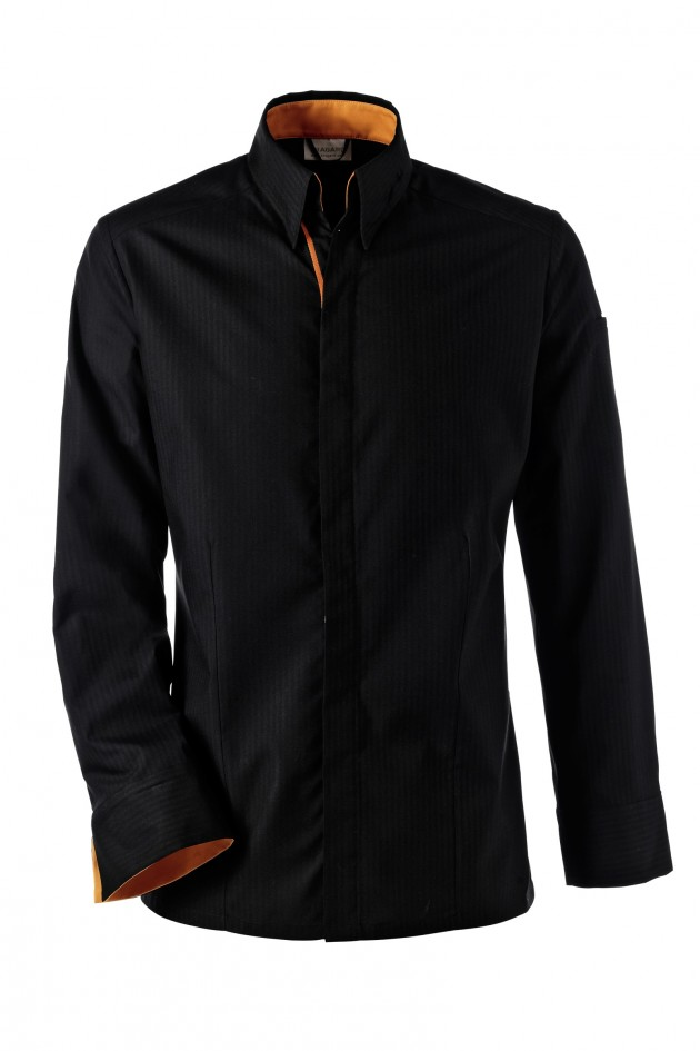 Manteau homme noir laine