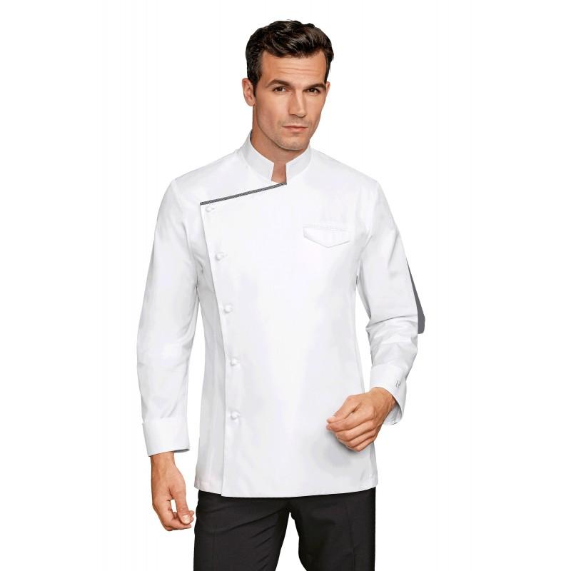 Chaquetillas de cocina maxence blanco - Chaquetillas de cocina ...