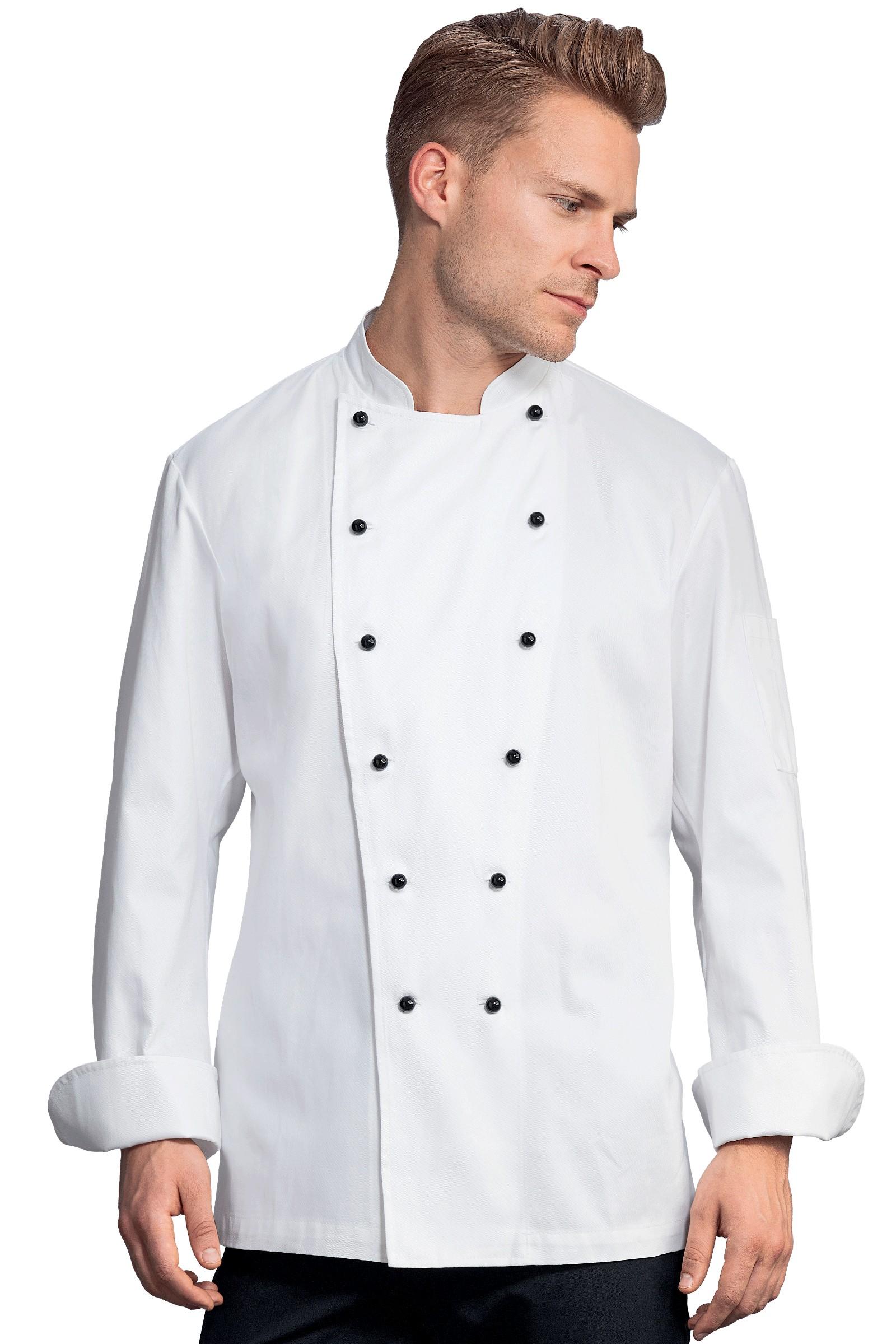 Chaquetillas de cocina narvic blanco - Chaquetillas de cocina ...