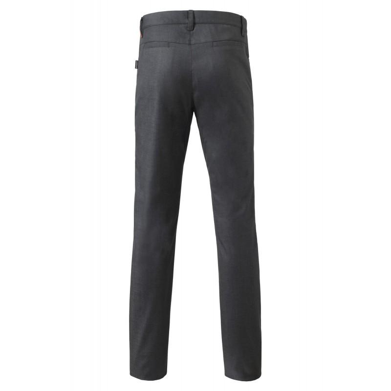 pantalon homme courbet gris acier. Black Bedroom Furniture Sets. Home Design Ideas