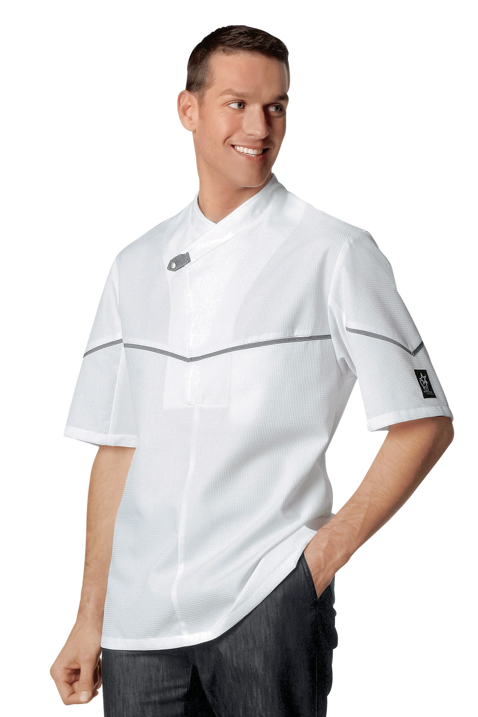 Chaquetillas de cocina texas blanco - Chaquetillas de cocina ...