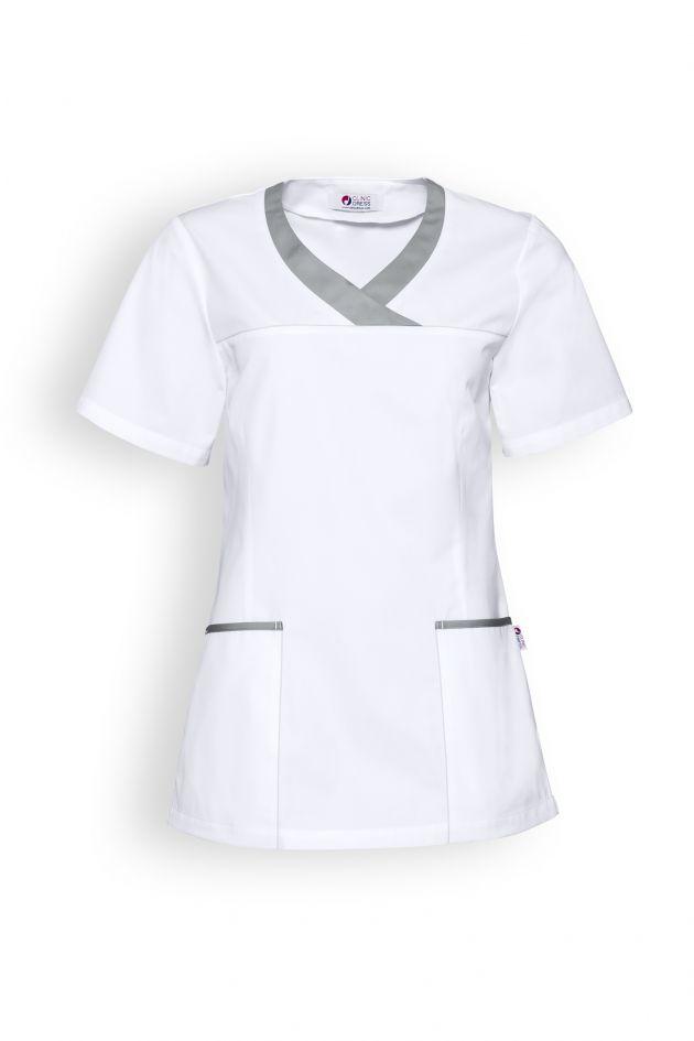 Tunique médicale manches courtes femme