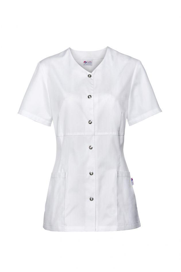 Blouse médicale femme lavable à 95°