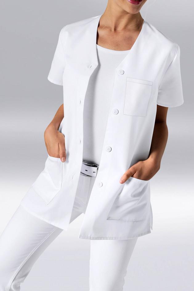 Blouse médicale femme coton lavable 95°