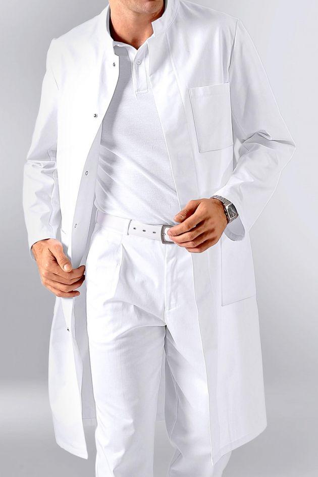 Blouse longue homme 65% Polyester 35% Coton