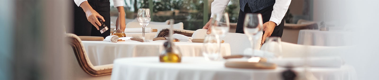 Oberteile - Service & Hotellerie