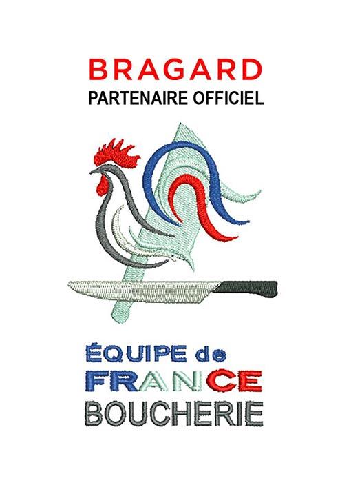 Bragard, partenaire officiel de l'équipe de France de boucherie pour le Worl Butchers Challenge