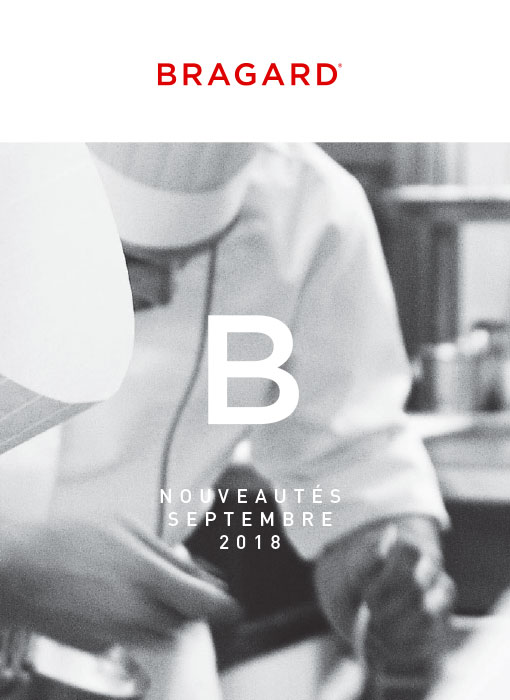 Bragard Nouveautés septembre 2018