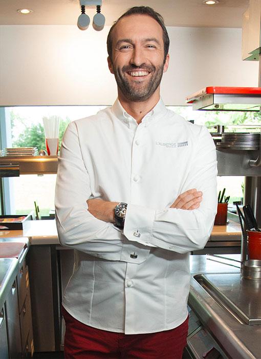 Bragard - Cédric Béchade, la veste chemise