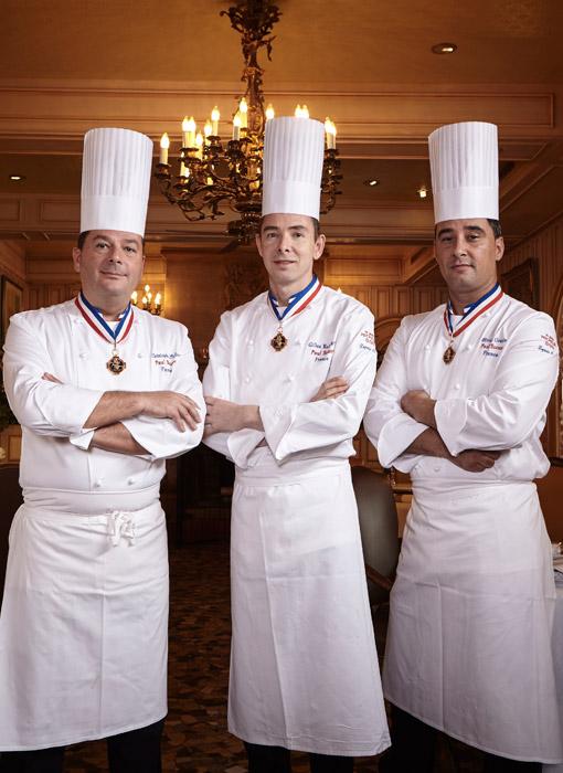 Bragard chef's jackets