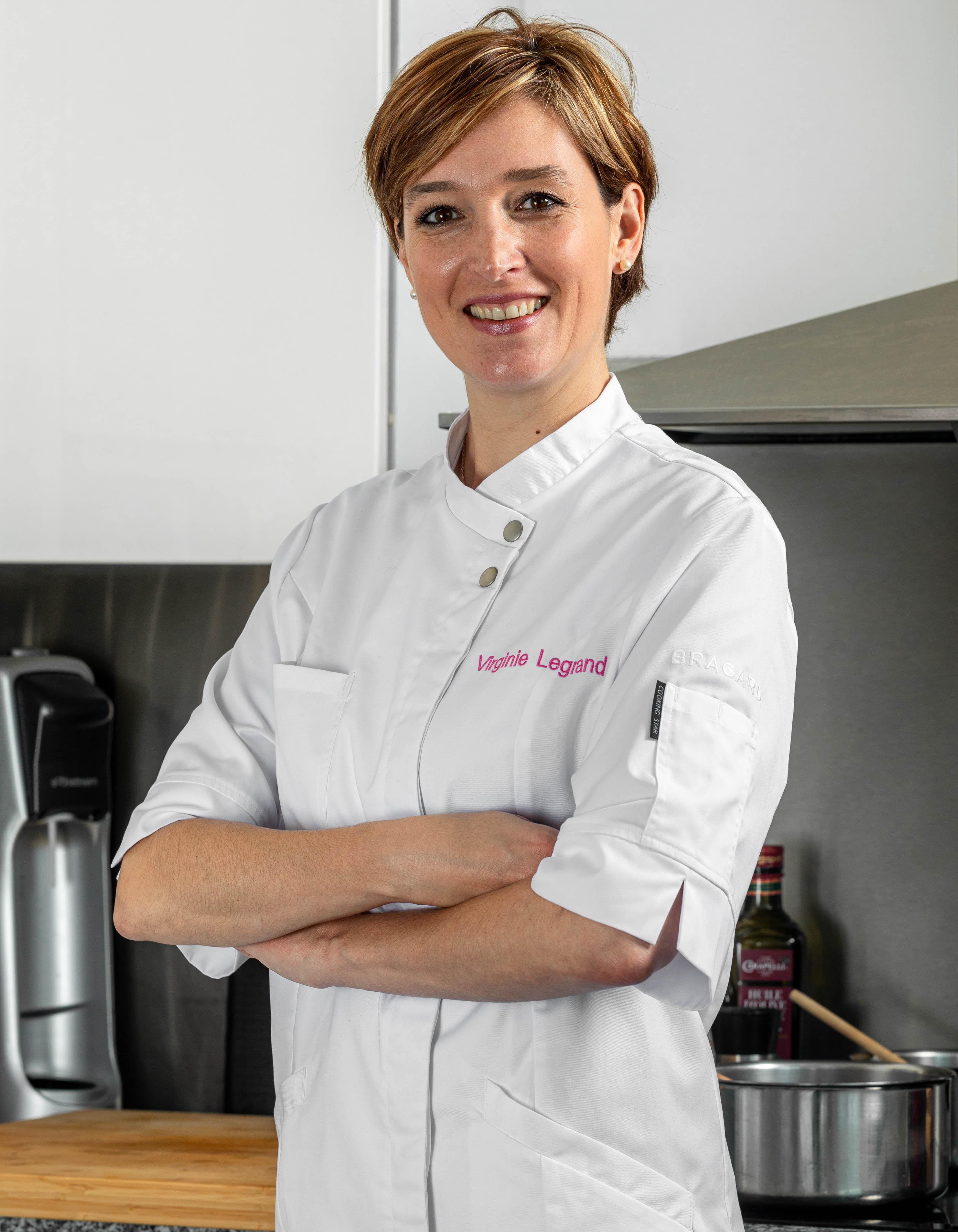 Virginie Legrand - Veste de cuisine femme VERANA